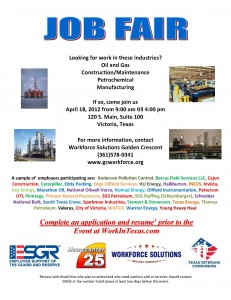 eagle ford job fair victoria