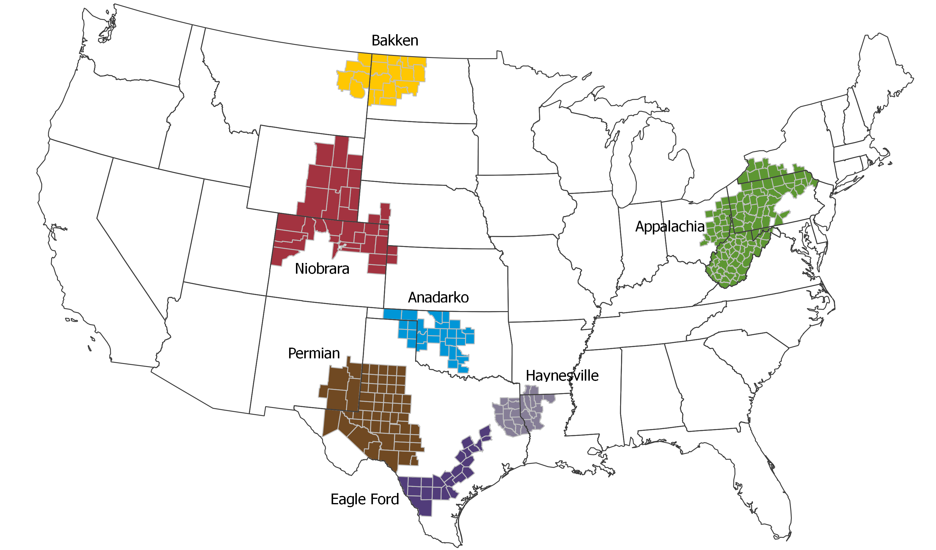 The U.S. Has Abundant Shale Gas Resources